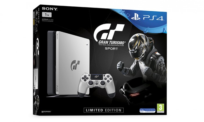 PlayStation 4 SONY PS4 1TB+Gran Turismo Sport Spec.ed.+That's You+PSPlus 14dní