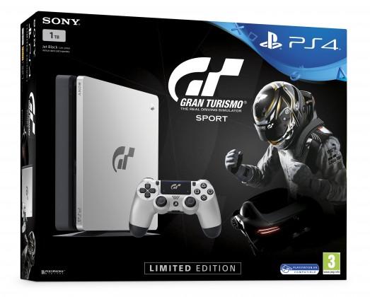 PlayStation 4 SONY PS4 1TB+Gran Turismo Sport Spec.ed.+That's You+PSPlus 14dní