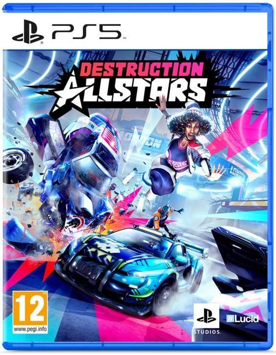 PlayStation 5 hry Hra PS5 Destruction AllStars
