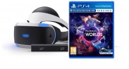 PlayStation VR PS4+hra VR Worlds+Kamera PS719952060