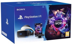PlayStation VR + PS4 kamera + VR Worlds PS719981169