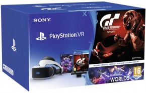 PlayStation VR v2+Kamera+Gran Turismo Sport+Worlds PS719979661