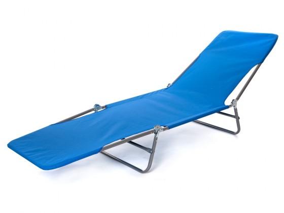 Plážové ležadlo II (modrá)