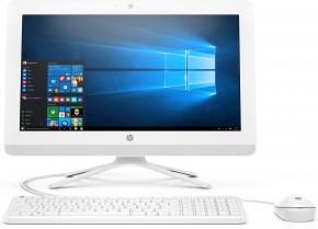 Počítač HP 20-c412nc, all-in-one, 19,5'', biela + ZADARMO USB-C/RJ45 redukcia Olpran