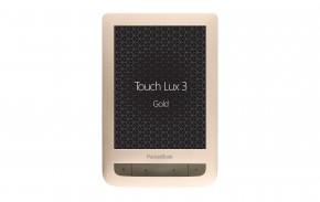 "PocketBook 626 Touch Lux 3, 6"" E-ink, zlatá EBKPK1235 + DRAK!"