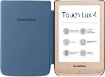 POCKETBOOK 627 Touch Lux 4, darčeková sada s obalom, zlatá