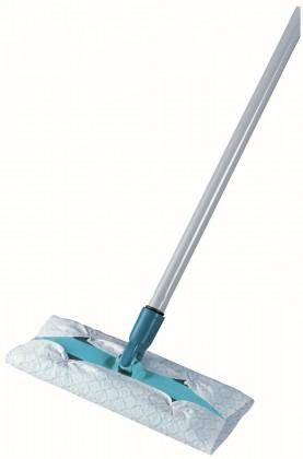 Podlahový mop Clean & Away (strieborná, tyrkysová)