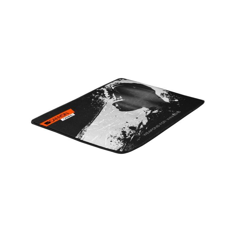 Podložka pod myš Canyon CND-CMP3 - podložka pod hráčsku myš, 350X250X3mm, čierna