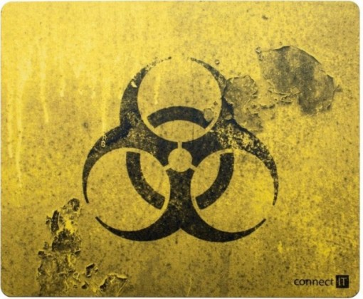 Podložka pod myš CONNECT IT CI-194 Biohazard Pad ROZBALENÉ