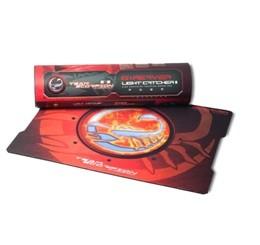 Podložka pod myš G-Reaver herná podložka pod myš, čierno-červená