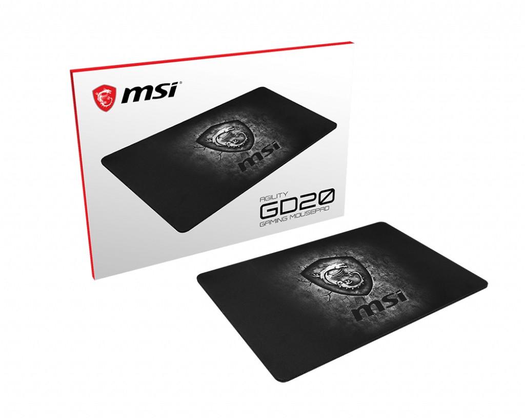 Podložka pod myš Herná podložka pod myš MSI AGILITY GD20, 320x220x5mm