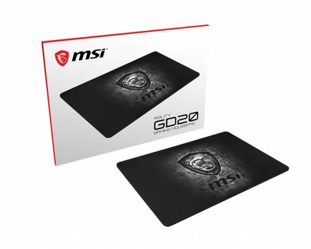 Podložka pod myš MSI Agility GD20 (J02-VXXXXX4-EB9)
