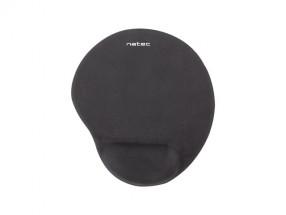 Podložka pod myš Natec Marmot, ergonomická, čierna