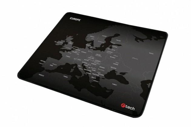 Podložka pod myš Podložka pod myš C-TECH MP-01E (Europe), 320x270x4mm
