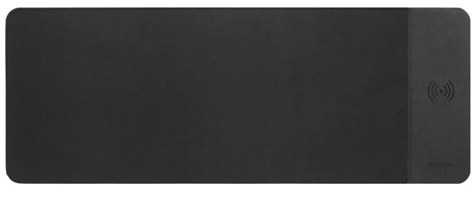 Podložka pod myš Podložka pod myš Canyon CNS-CMPW6, s bezdrát. nabíjaním, čierna