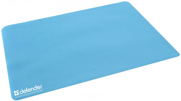 Podložka pod myš Podložka pod myš Defender Microfiber, 300x225x1,2, modrá