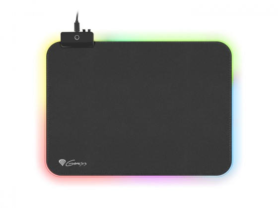 Podložka pod myš Podložka pod myš Genesis Boron 500 M, 350x250mm, RGB podsv.