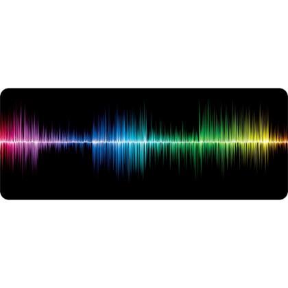 Podložka pod myš Podložka WG pod klávesnicu a myš, frekvencia, 750x300mm