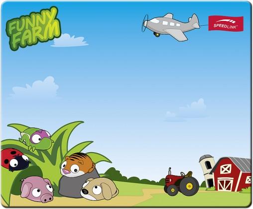 Podložka pod myš Speed-Link Silk Funny Farm (SL-6242-FARM)