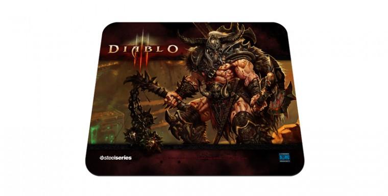 Podložka pod myš STEELSeries QCK Limited Edition (Diablo III, Barbarian)