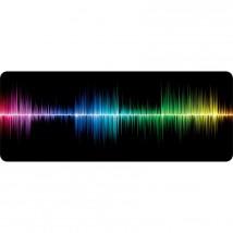 Podložka WG pod klávesnicu a myš, frekvencia, 750x300mm
