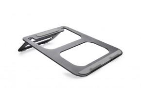Podstavec na notebook COTEetCI hliníkový šedý CS5151-GY