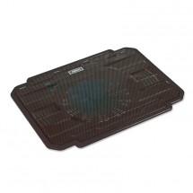 Podstavec pod notebook OMEGA ICE BOX, 14cm vetrák, čierny