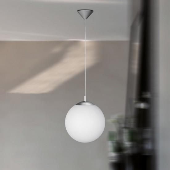 Point - Stropné osvetlenie, E27 (matný nikel)