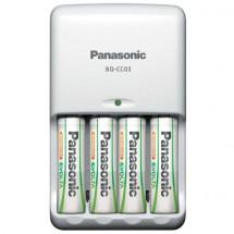 Pokročilá nabíjačka batérií Panasonic K-KJ17 + 4xAA, 1900mAh