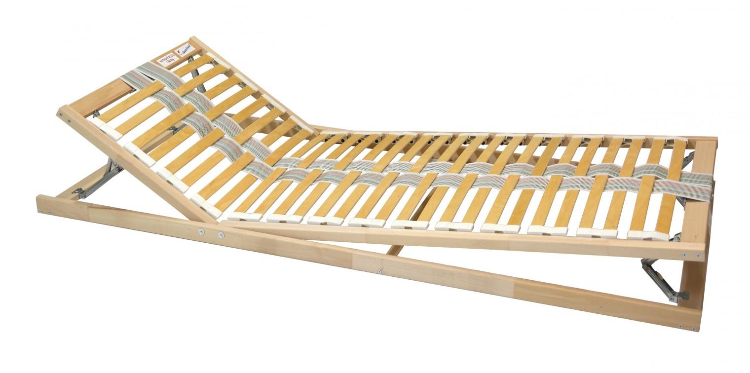 Polohovacie Double expert - Rošt, 90x200 cm, polohovací, lamely 35