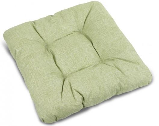 Polster Adéla - Sedák prešívaný, 40x40 UNI (svetlo zelený)