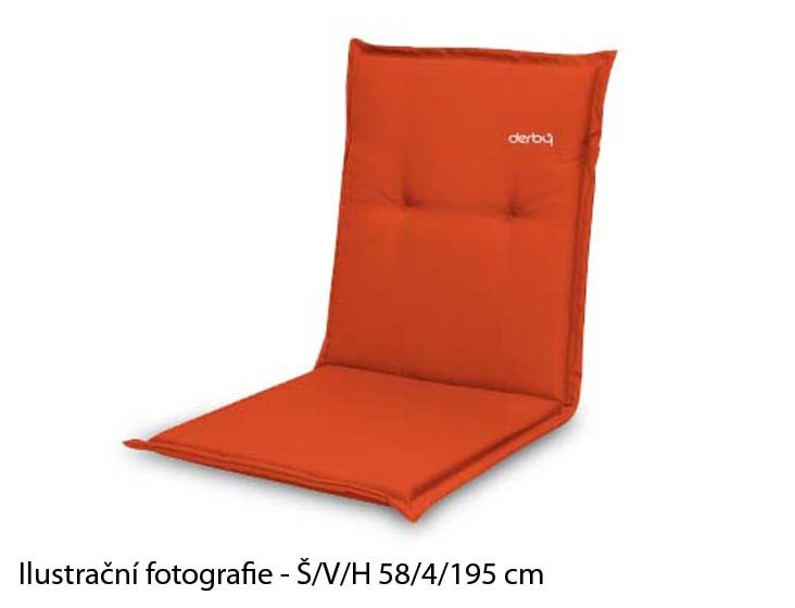 Polster Look 831 - Polstr, lôžko (oranžová)