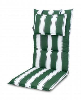 Polster Premium - Polster vysoký (zelenobiely prúžok)