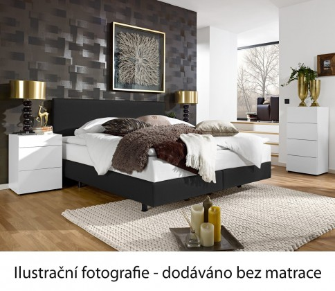 Postel Boxspring Even 200x160 (alaska A115)