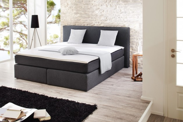 Postel Boxspring Hariet - Boxspring 200x180, matrace, topper (50246-700)