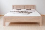 Posteľ Lucy 160x200, dub bardolino, vrátane roštu, bez matracov