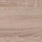 Posteľ Uno 160x200, dub bardolino, vr. roštu a úp, bez matraca
