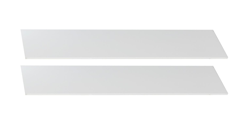 Postieľky a príslušenstvo Bibi - Bočnice k detskej postieľke (alpská biela, oranžová)