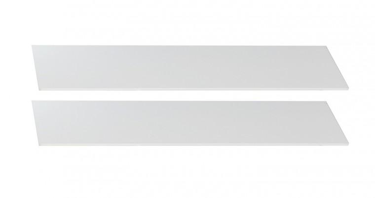 Postieľky a príslušenstvo Cariba - Bočnica k detskej postieľke (biela dub, čierna láva)