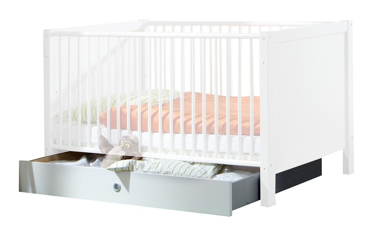 Postieľky, prísluš. Filou - Úložný priestor pod detskú postieľku (alpská biela)