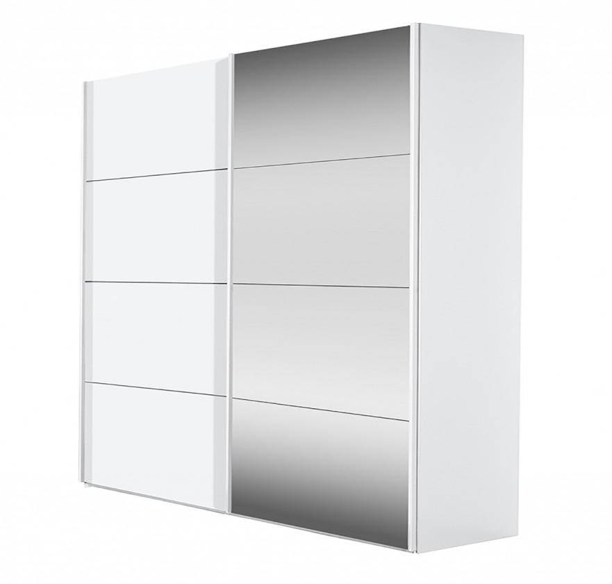 Posuvná Flavour 7093207 (biela/krištálové zrkadlo)