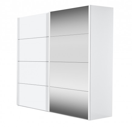 Posuvná Flavour 70932072 (biela/krištálové zrkadlo)