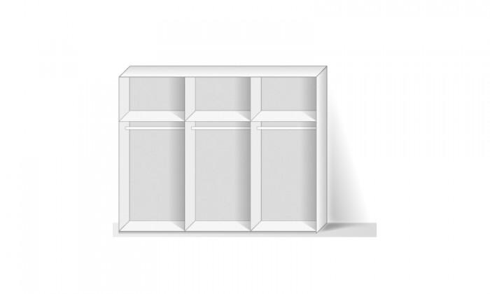 Posuvná Match Up - Korpus skrine (alpská biela)