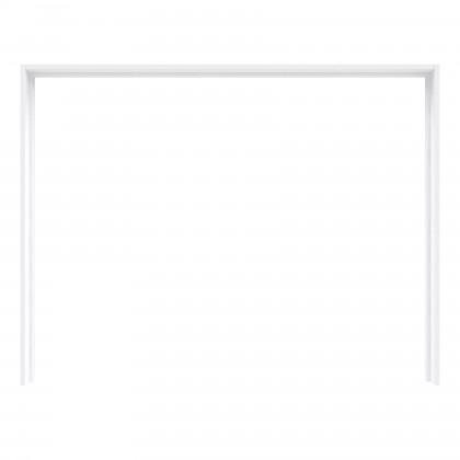 Posuvná Starlet Plus - Rám skrine s osvetlením (biela lesk)