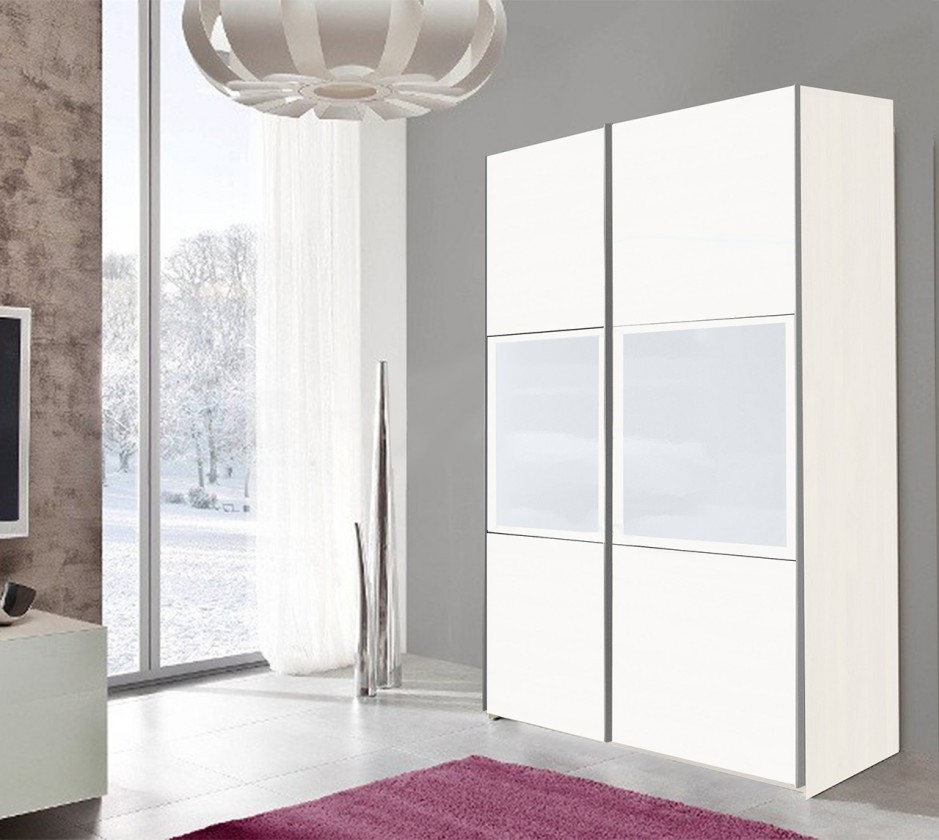 Posuvná TRIO3 - Skriňa, 152x213x67 (biela)