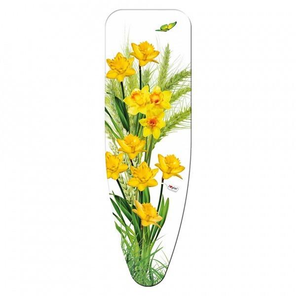 Poťah na žehliacu dosku, 125x40 cm (motív Narcis)