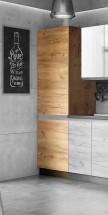 Potravinová skriňa ku kuchyni Brick light