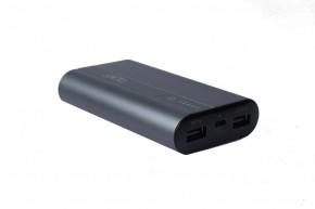 Powerbank Apei Business MINI 7800mAh, hliníkový povrch, šedá