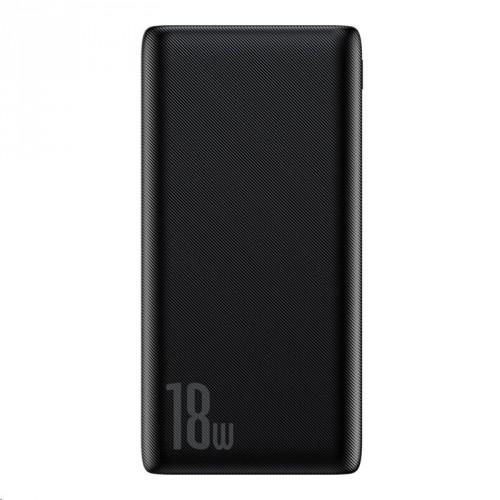 PowerBank Baseus, Bipow, 10 000mAh, 18 W, čierna