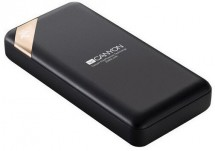 Powerbank Canyon 20000mAh, Li-Pol, displej, Smart IC, čierna